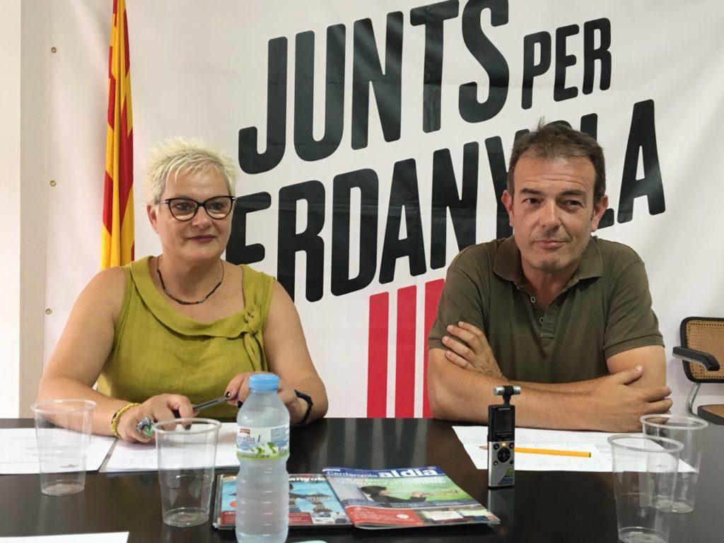 Presentem la Junta Permanent de Junts Per Cerdanyola